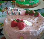 Gâteau pour mon anniv réalisé par ma fille