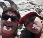 berck aout 2014 avec ma fille