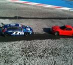 Les deux TT-01E de la team