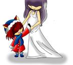 Jiny et sa mère....
