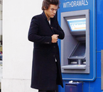 Harry like an secret agent