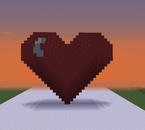 je t'aime Chii !! (fait sur Minecraft)