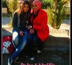 moi et mon ami khadija que j'adoure trop
