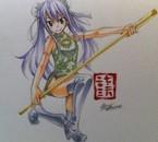 Dessin de Hiro Mashima de Wendy