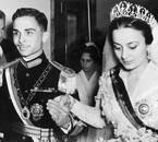 Sharifa Dina bint 'Abdu'l-Hamid, wedding with king Hussein