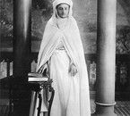 Sultan Sidi-Mohammed on his corronation day in 1927