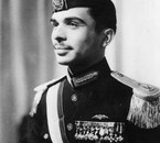 King Hussein in 1953