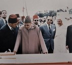 King Mohammed V in Tangier