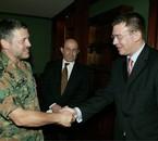 King Abdullah II, 2008