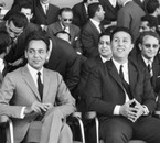 King Hassan II and ben Bella, in 1963