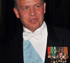 King Abdullah II in 2010