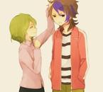 Ma blonde et moi, j'suis mignon en Fudou hein ** ?