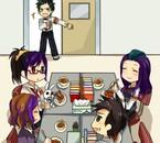 Justi, Victoria, Yugiri et Seb' ~
