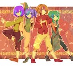 Anna', Yugiri, Seb' et Justi ~