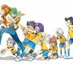 Justi, Yugiri, Anna', Ma blonde et Seb' xD