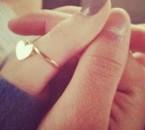 La mains de louis et la mienne <3
