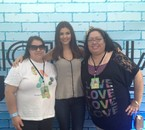 Victoria Justice &my Mom with Me.She's the Girl from Nickelodeon from the Tv Show Victorious