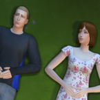 Le Sims de gauche créé par Rope est dispo sur la galerie