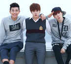 RapMonster / Jin / Suga (in Adult Child)