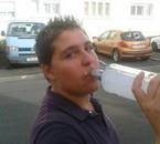 mon pote et ma vodka