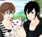~ Snow x Stan (Avec Umi [Le chien] ) ~