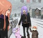 La tata, la maman et les deux enfants d'Akiko et Asano♥