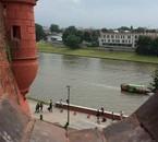 Photo prise dans la tour du vavel