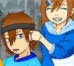 Ayumi & his brother: Takuma