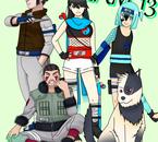 Team 13 #Haiko-> Megumi-> Senyiu-> Uwe-> Torû