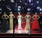 Les 5 finalistes Miss France 2015