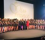 Conférence de presse Miss France 2016 avec Miss France 2015