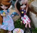 En fouillant mes photo j'ai trouver cette photographie de Anju et Mayu a pâque ^^