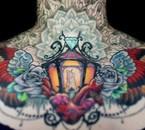 Non ce n'est pas mon cou, mais j'adore ce tatouage!