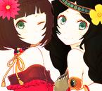 Amelie Weston et Emmerauda Gekitsu ♥