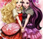 Ever After High version manga