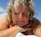 catherine a la plage