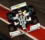 Honda Bruno Senna 2008 test hivernaux
