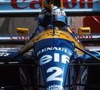 Alain Prost, Canon Williams-Renault FW15C, 1993
