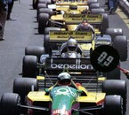 pitlane at Francorchamps, 1987 Belgian