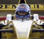 Poutine 2010 dans une Prost de 2001 aux couleurs de Renault