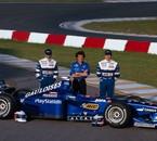 Prost 1998 - Jarno Trulli Alain Prost Olivier Panis