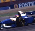 Aout 1995 silverstone. Jacques Villeneuve