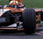 2001 - Italy - Arrows - Enrique Bernoldi