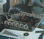 1976 Bernie checks out the V12 Alfa on BT45