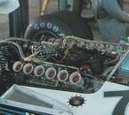 1976 Bernie checks out the V12 Alfa on BT45