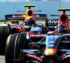 Scott Speed 2007 Toro Rosso et Webber