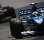 Monaco 1998 Fisichella Schumacher
