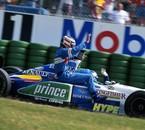 Alesi , Berger Benetton - Renault 1996