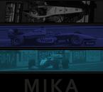 Graphisme t-shirt Mika Hakkinen