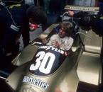 Mike Thackwell et Ken Tyrrell